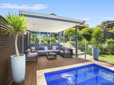 Poolside Decking in Curl Curl