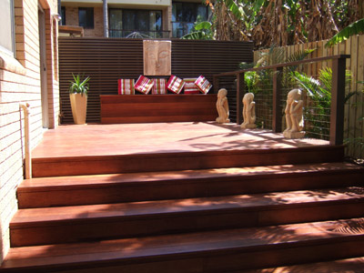 Balgowlah decking job
