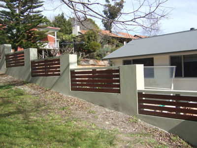 Fencing project in Frenchs Forest