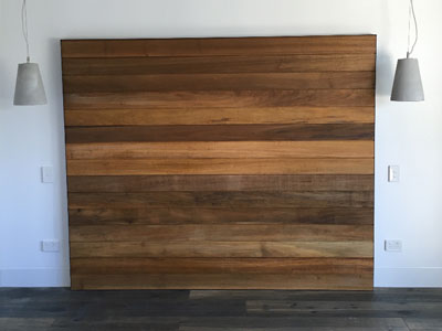 Wooden Headboard, carpentry