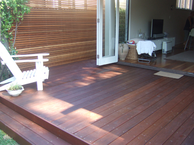 decking job in Manly