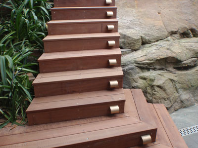 Northbridge Stairs, carpentry