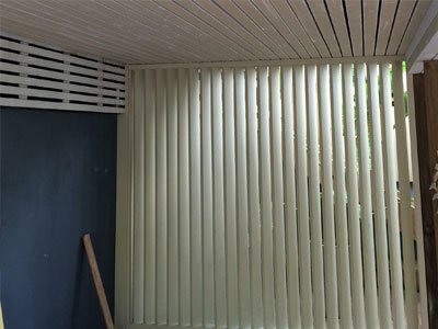 Vertical Louvres carpentry